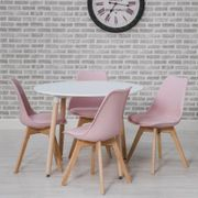 Urban Round Dining Table & 4 Chairs