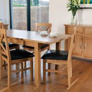 York extended table & 4 chairs